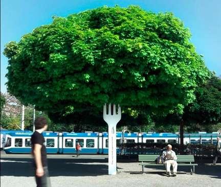 Tree Trunk Cutlery