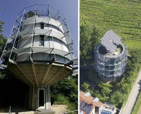 The Heliotrop House Rotates with the Sun