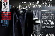 Crowdsourced Clotheslines - Levi Strauss Contest 'Care to Air' Design a Clothesline Challenge
