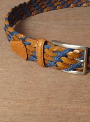 Multicolored Woven Belts