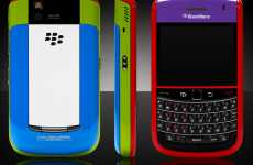 Custom Chromatic BlackBerrys - Colorware for the BlackBerry Bold 9650 Makes Your Phone Extra Snappy
