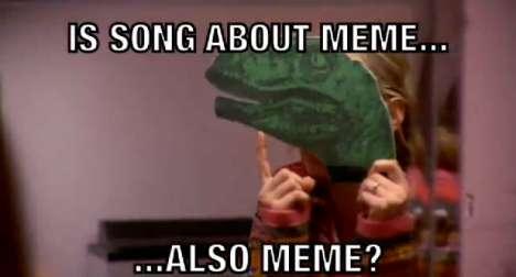 Meme-Mocking Parodies