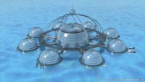 Submerged Dome Abodes