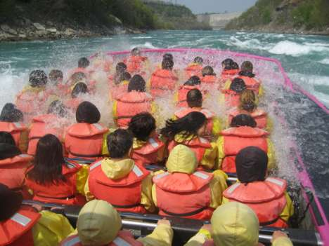 Whitewater Jet Boating: Trend Hunter Fun Day