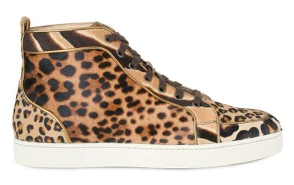 Christian Louboutin Leopard Sneakers