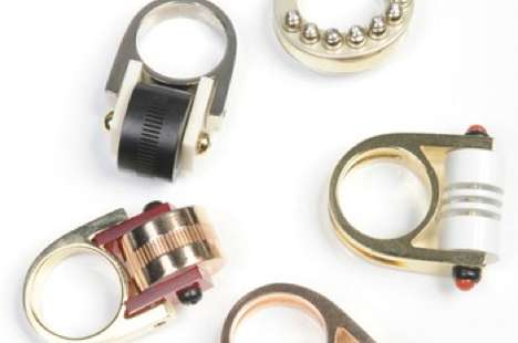 Haute Industrial Rings