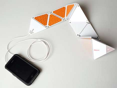 Origami Sound Systems - Amplify Your Commute with the Flexible iPhone Speakers
