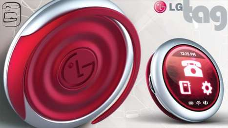 Ear-Sized Phones - Carry the Conversation with the LG Tag