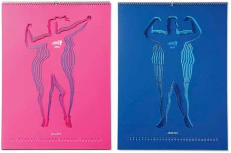 Peeling Fitness Calendars
