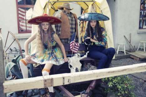 Sombrero Fashion Spreads