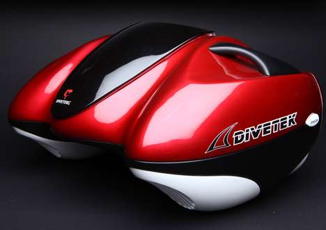 Futuristic Inflatable Wave Riders