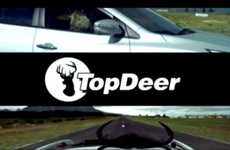 Car Show Spoof Ads - The Top Deer Hyundai Commercial Pokes Fun at Top Gear
