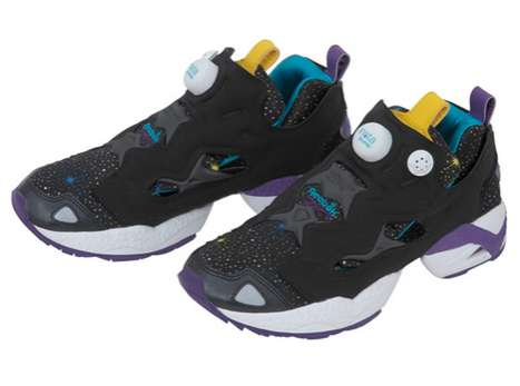 Shooting Star Sneakers - The Reebok X Girl Insta Pump Shoes are Astronomazing