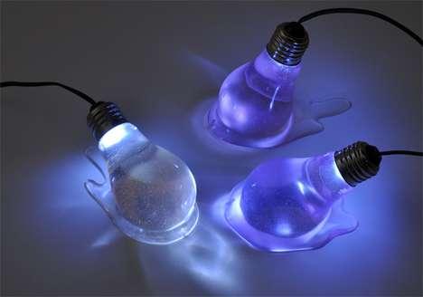 Melting Light Bulbs