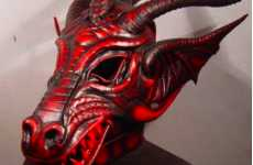 Devilish Dragon Masks