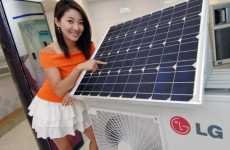Eco-Cooling Appliances - The LG Solar Hybrid Air Conditioner Keeps the Earth Safe & the House Cool