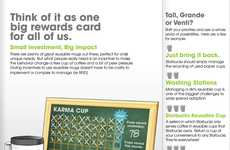 Green Coffee Incentives - 'Karma Cup' is the Starbucks Paper Cup Contest Winner