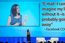 E-mail Extinction - Facebook COO Sheryl Sandberg Fears End of E-mail