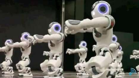 Robot Back-Up Dancers