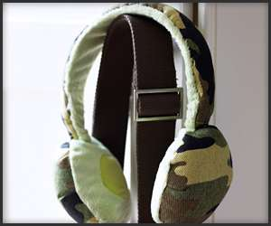 Cushioned Camouflage Headphones