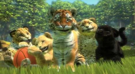 Virtual Tiger Pets
