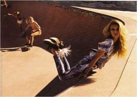 Skate Park Fashion Shoots