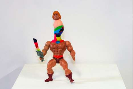 Hacked Action Figures