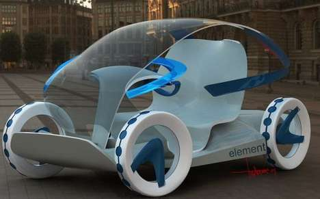 Transparent Eco Cars