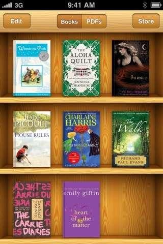 Apple-Branded Book Apps