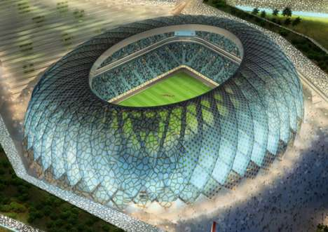 Solar-Powered Stadiums - Qatar Plans to Build Three Hi-Tech Stadiums for FIFA 2022