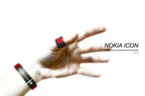 Caller ID Bracelets - The Nokia Icon Keeps You in the Loop at All Times