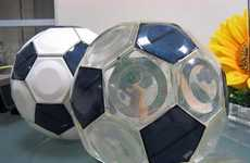 Solarific Soccer Balls - Greendix Releases World's First Solar-Powered Football