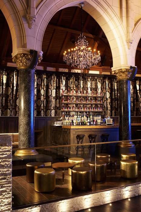 Blessed Gothic Bars - The Spirito Martini Night Club Lets You Party in a Church