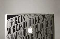 Informative Laptop Decals