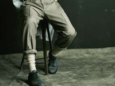 Rolled-Up Trousers