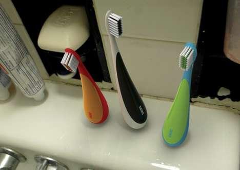 Self-Balancing Toothbrushes