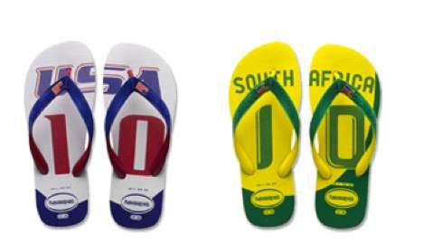 World Cup Flip-Flops