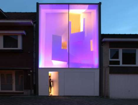 Fluorescent Glowing Homes