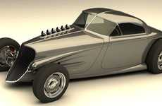 Retooled Hot Rods - Bo Zolland's '33-34' Automobile is a Blast from the Past