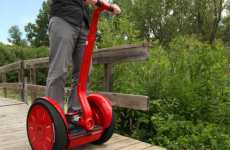 Color-Popping Personal Transportation - Colorware Custom Paint Jobs Will Brighten up Your Segway