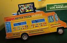 FIFA Food Trucks - The ESPN World Cup Match Truck is a Mobile Food and Game Vehicle