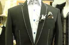 Diamond-Studded Suits - Stuart Hughes Creates a $738,000 Power Suit for CEOs