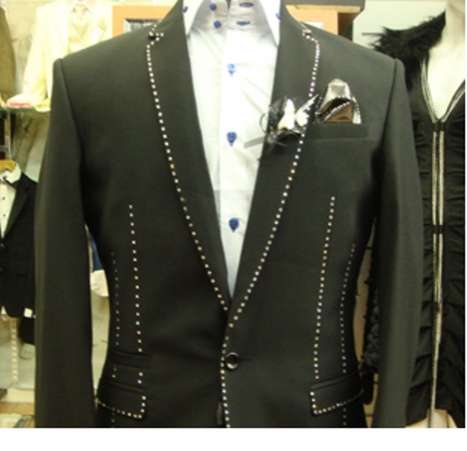 Diamond-Studded Suits