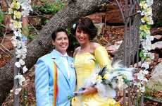 Sapphic Fairytale Weddings - Meghann and Shasta Channel 'Beauty and the Beast' for Their Nuptials