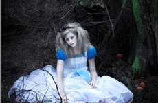 Defeated Heroine Photography - Melanie Jane's 'Beyond Wonderland' Shows Another Side of Alice