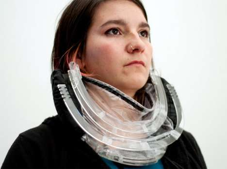 Air Filter Fashion - The W/Air is a Wearable Necklace that Filters Out Pollution