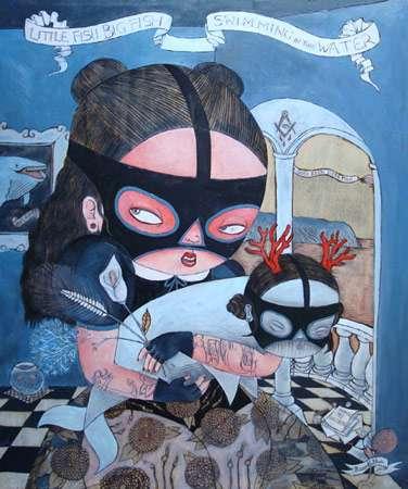 Masked Crusader Illustrations