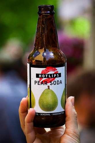 Fizzy Pear Drinks