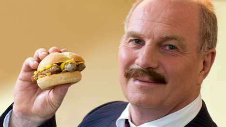 Sausage Burgers - Uli Hoeness Launches the Nuernburger for McDonald's