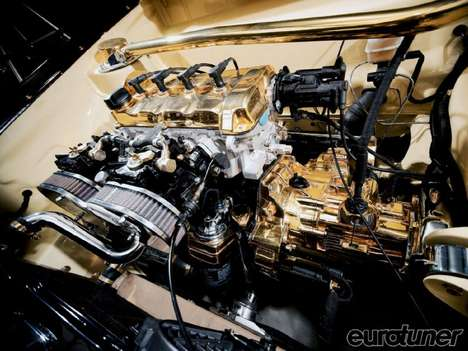 Gold-Plated Engines - This 1980 VW Golf has Been Tricked Out